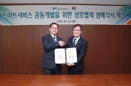 KT-인천국제공항사, 스마트 공항 만들기 프로젝트