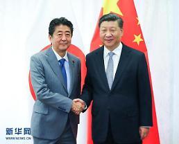 7년 만에 중국 찾는 日 아베 총리…일대일로 협력도