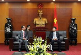 김종갑 한전 사장, 베트남 산업 장관 만나 에너지사업 협력 강화
