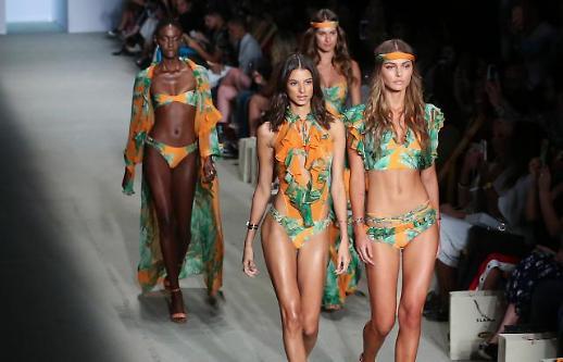 [포토] 눈길끄는 브라질 패션쇼