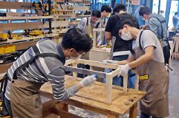 안랩, 목제 테이블 제작해 기부하는 '아낌없이 주는 나무' 봉사활동 진행