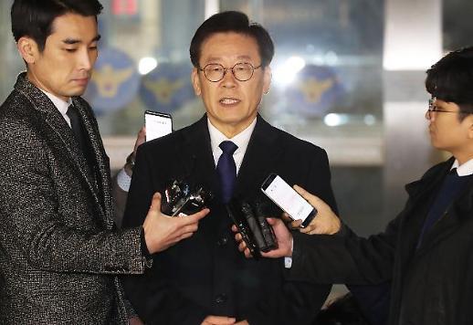 친형 강제입원 의혹 이재명 형님 입원은 형수가 한 일… 김부선 스캔들·조폭 연루설도 부인