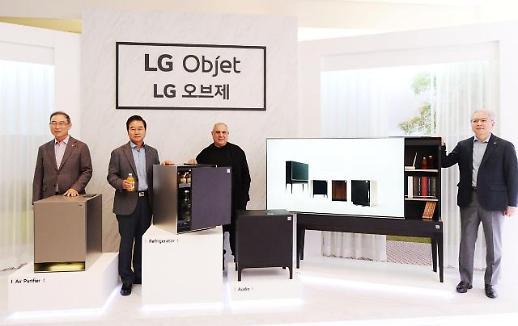 송대현 LG전자 사장 가구·가전 결합한 오브제로 가전 혁신 이어갈 것