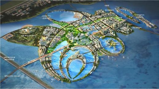 새만금에 1만가구 규모 스마트·친환경 수변도시 조성