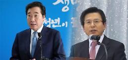 [리얼미터] 차기 대선 '국무총리 매치'?…이낙연·황교안 각 진영서 1위