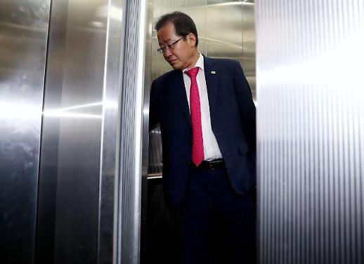 홍준표 박근혜 탄핵 흘러간 역사…소모적 논쟁 그만하라
