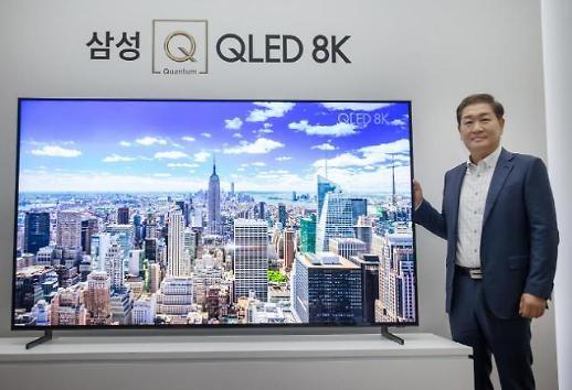한종희 삼성전자 사장 OLED와 경쟁 자신있다···8K QLED TV도 판매 증가