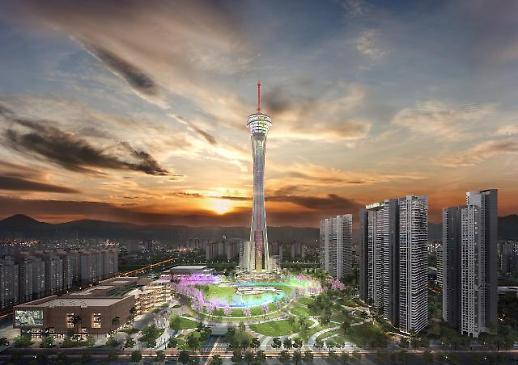 전은수 자광건설 대표 전주에 143층 높이 익스트림타워...내년 중반기 착공 목표