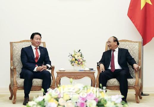 최태원 SK회장, 베트남 총리 면담...민관 협력 방안 논의