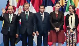 문 대통령 北 진정성있는 비핵화 실천해 아세안 회의 참가 기대
