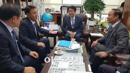 강임준 군산시장, 국가예산 확보 위해 정치권 공조 국회방문