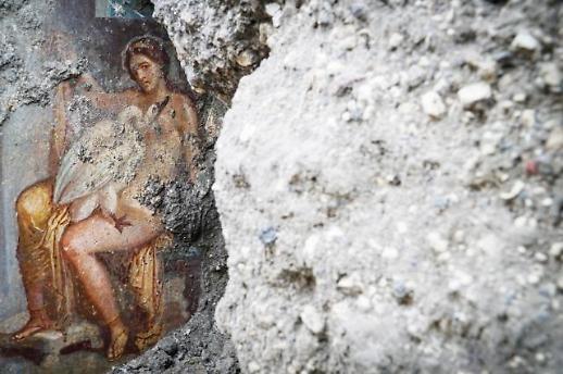 [포토] 폼페이 에로틱 벽화