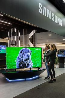삼성전자, 영국서 'QLED 8K' 등 프리미엄 TV 체험존 마련... 인기몰이 나서