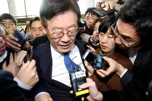 이재명, 혜경궁 김씨 논란 묻자 삼바 사건이나 관심 가져달라