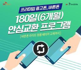 SK텔링크, 중고폰 보증기간 6개월로 확대