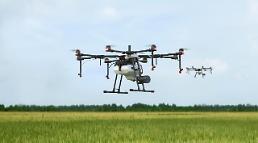 한빛드론, DJI 농업용 드론 국내 총판계약 체결