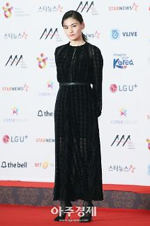 [포토] 레드카펫 밟는 김용지 (2018 AAA)