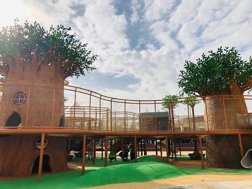 [동영상/르포] 롯데프리미엄아울렛 기흥점, '놀이·쇼핑·힐링' 삼박자 갖췄다
