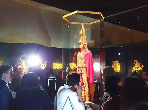 [전시 영상톡]밭매는 김태희요?..황금인간은 진짜였다..카자흐스탄 특별전 국립중앙박물관