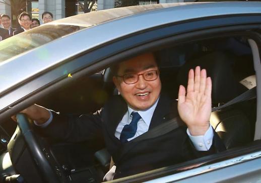 [포토] 떠나는 김동연 부총리