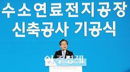 성윤모 장관 내년 수소차 4000대 보급, 2022년 충전소 310개 구축