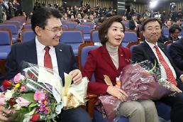 [일문일답] 한국당 새 원내대표 나경원 통합과 변화 선택