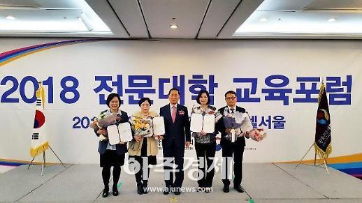 경복대 김정수·노상미 교수, 교육부 교수학습혁신대회 협의회장상 수상