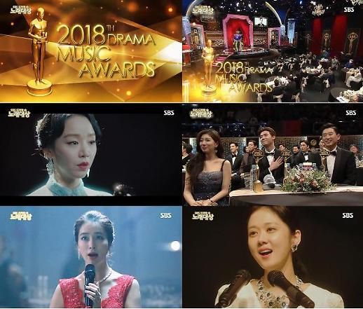 신혜선과 장나라, 이민정의 연기대상속 노래대상 진짜야?··· 절묘한 콜라보 영상 화제