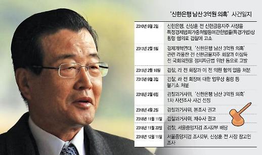 라응찬 연루 '신한은행 남산 3억원 의혹'은 어떤 사건?