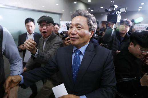 박근혜 전 비서실장 이학재, 다시 한국당…연쇄 탈당 이어질까