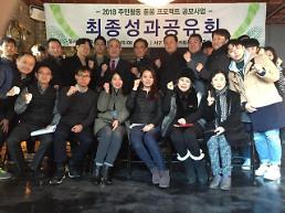 인천도시공사,2018 주민활동 돋움 프로젝트 성과공유회 개최