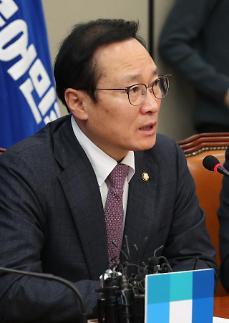"""홍영표 """"당적 옮긴 이학재, 정보위원장 사퇴가 순리"""""""