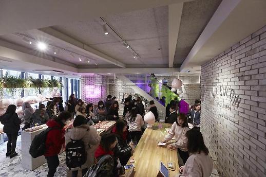 카카오프렌즈, 일본 도쿄 매장 오픈 첫 날 2000명 몰려