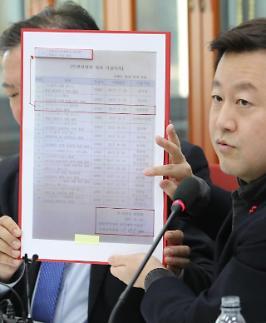 한국당 靑 특감반, 민간인 사찰 첩보 대검 이첩