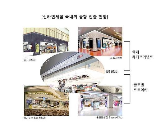 신라면세점, 김포공항 진출로 국내 면세 삼각벨트 완성