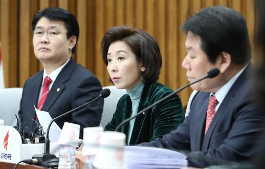 나경원 김정은, 핵 보유 평화 주장…靑 의혹 특검 갈 수밖에