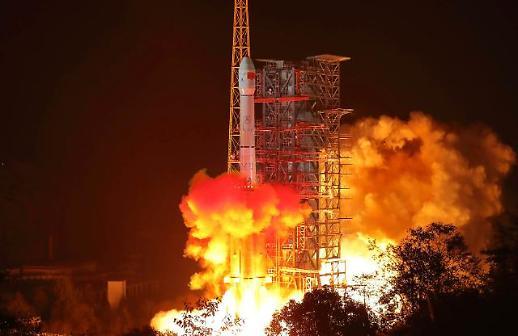 中 우주굴기 쾌거...창어4호, 인류 최초로 달 뒷면 착륙
