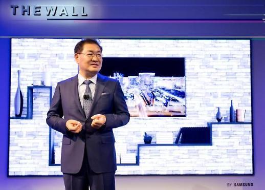 [CES 2019] 삼성전자, 마이크로 LED 75형 스크린 첫 공개
