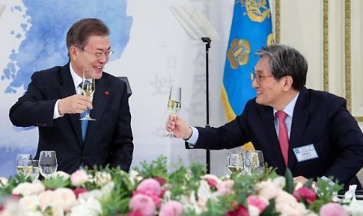 노영민 비서실장·강기정 정무수석·윤도한 소통수석 내정…설 연휴 전 개각 단행