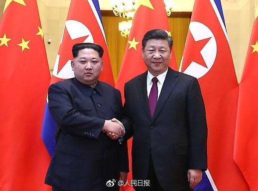 중국 신화통신 북한 김정은  7~10일 방중 공식확인(속보)