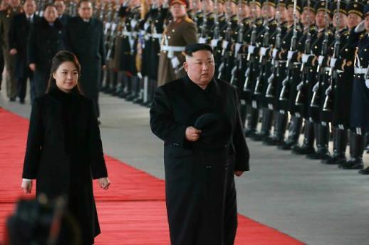 北매체, 김정은 방중 첫날 신속 보도…역대 가장 빨라