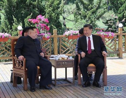 무역협상 중 김정은 불러들인 習, 대북 영향력 과시