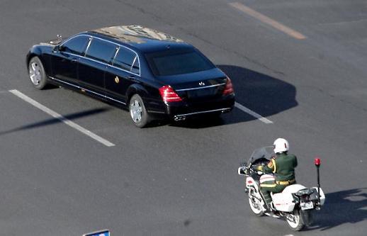 [포토] 김정은 베이징 도착...4차 방중