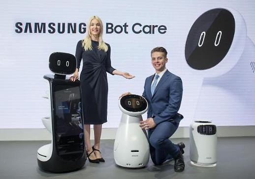 [CES 2019] 혈압 재고 119부르는 삼성 로봇···돌돌 말았다 펴는 LG TV