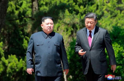 北·中 정상 회담 종료…관계 강화 및 북미회담 사전 조율