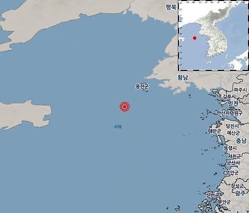 인천 백령도 남서쪽 해역서 규모 3.7 지진...통신재난 이상없나