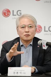 권봉석 LG전자 사장 올레드로 프리미엄 TV 진화 선도