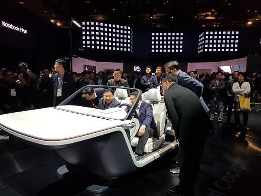 [CES 2019]삼성전자 '디지털 콕핏'에 CEO 총집합