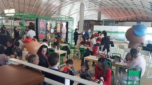 라인프렌즈, 홍콩국제공항에 캐릭터 테마 레스토랑 1호점 오픈