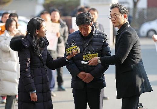 [포토] 가이드 폭행 박종철 예천군의원, 군민께 죄송